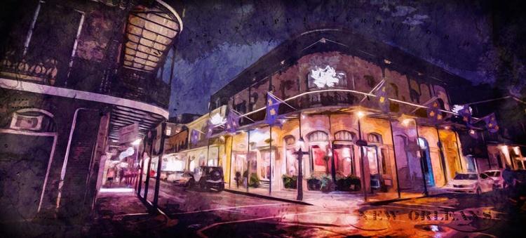 Nouvelle-Orléans en soirée